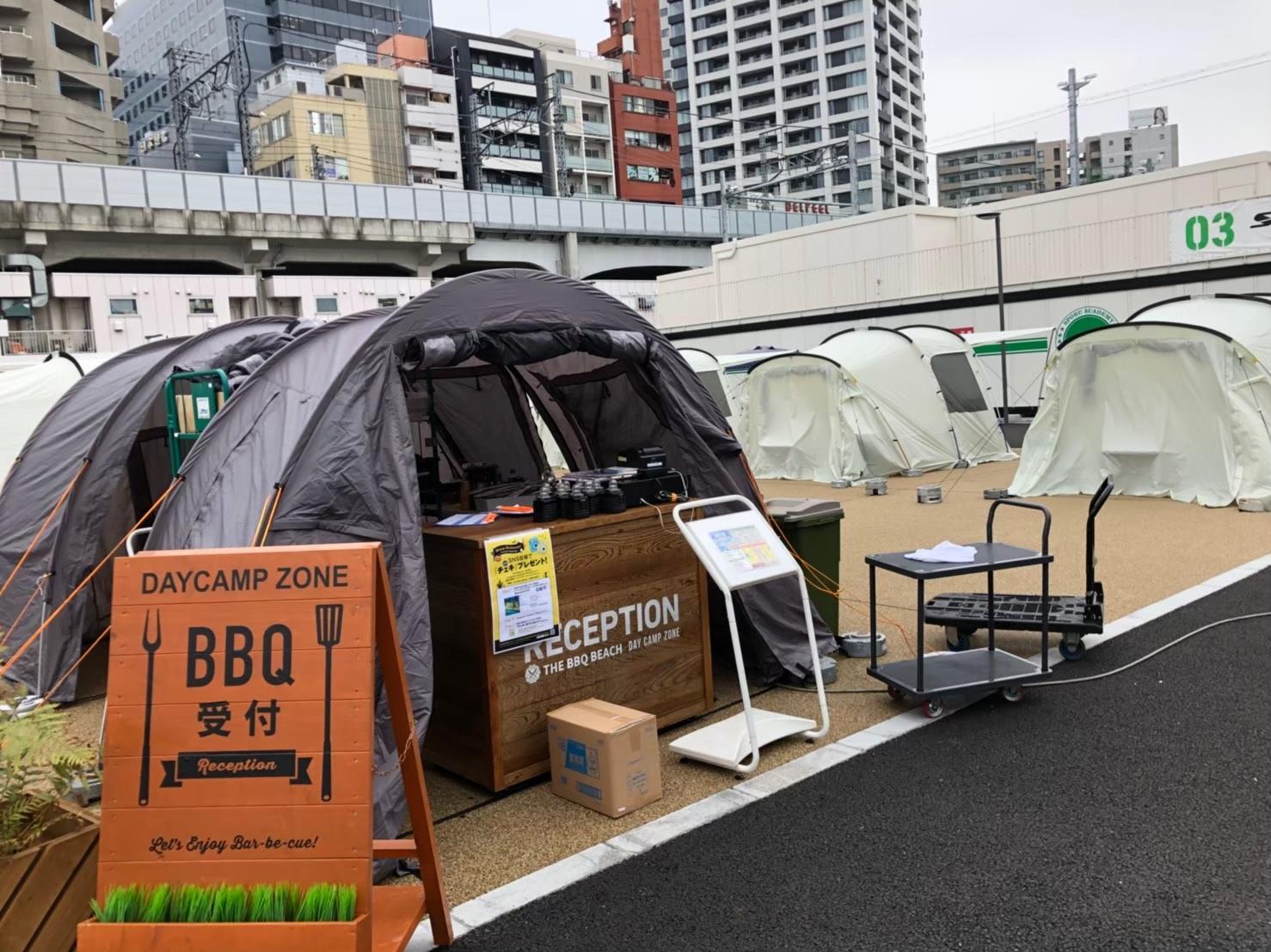 THE BBQ BEACH スポル品川大井町